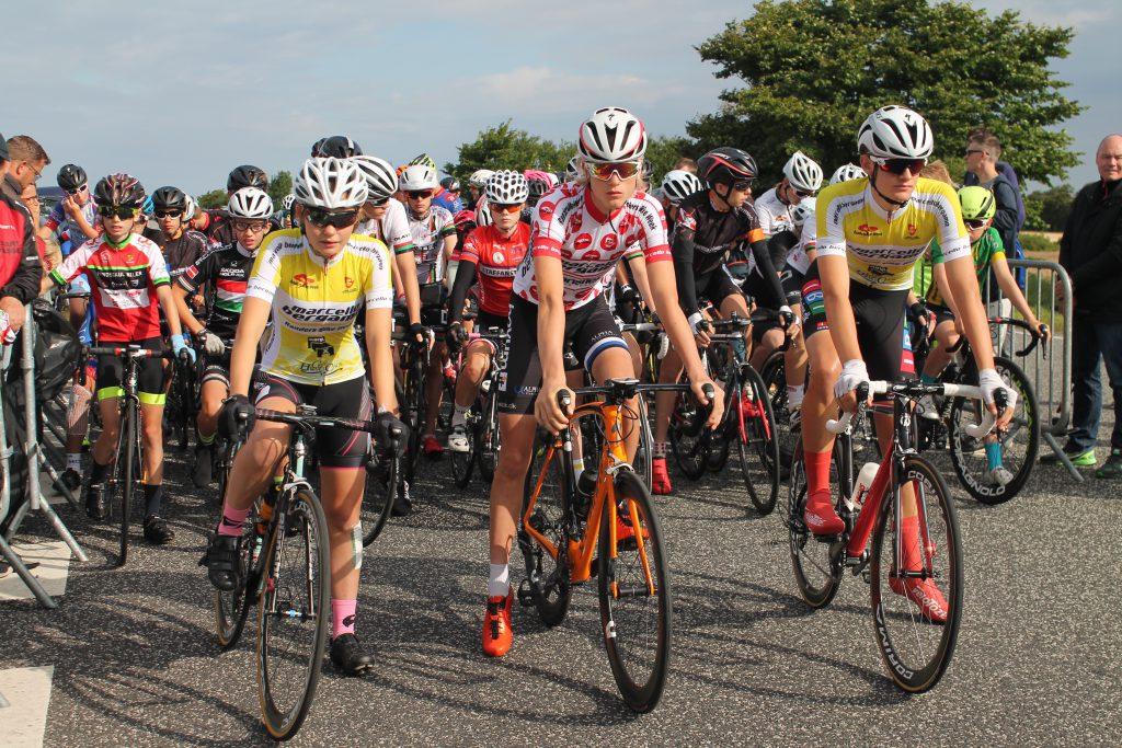 Start af 4. etape: U15 og U16p